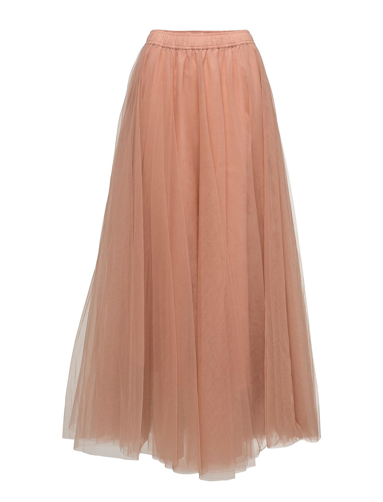 Long Classic Skirt Cathrine Hammel Maxi til Damer i Pulver