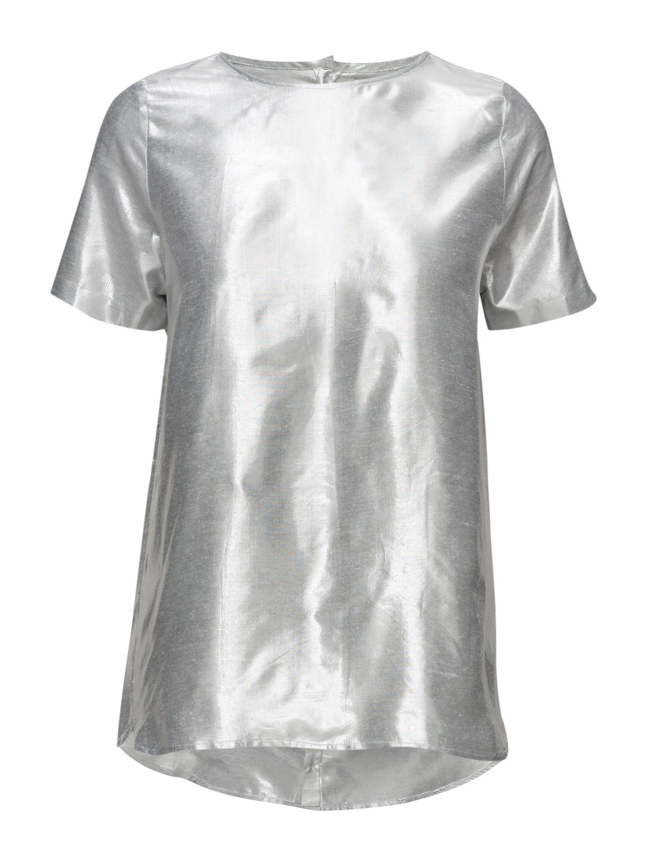 Lamé Tee Shirt Cathrine Hammel Kortærmede til Damer i