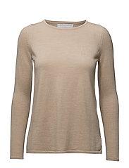 A-line sweater - BEIGE MELANGE