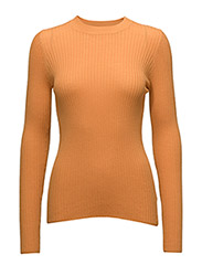 A-line sweater - ORANGE