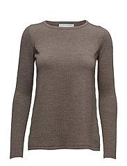 A-line sweater - SILVER MINK MELANGE