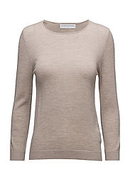 Evening sweater 3/4 sleeves - TAUPE MELANGE