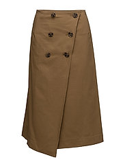 Wrap skirt - KHAKI