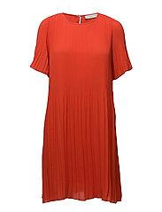 Summer miami dress - HIBISCUS RED
