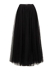 Long classic skirt - BLACK