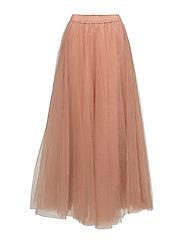 Long classic skirt - POWDER