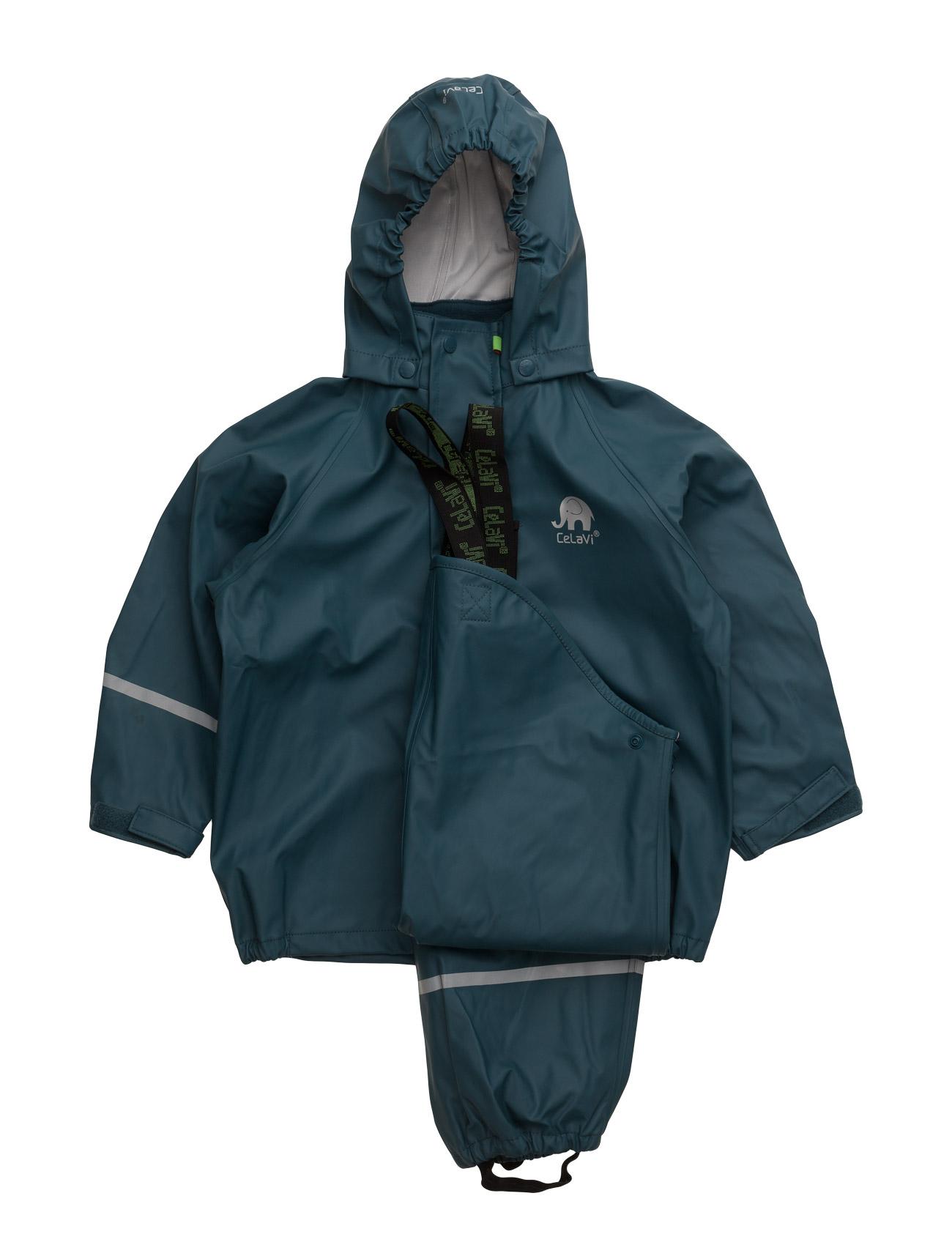 Basci Rainwear Set, Solid CeLaVi Overtøj til Drenge i