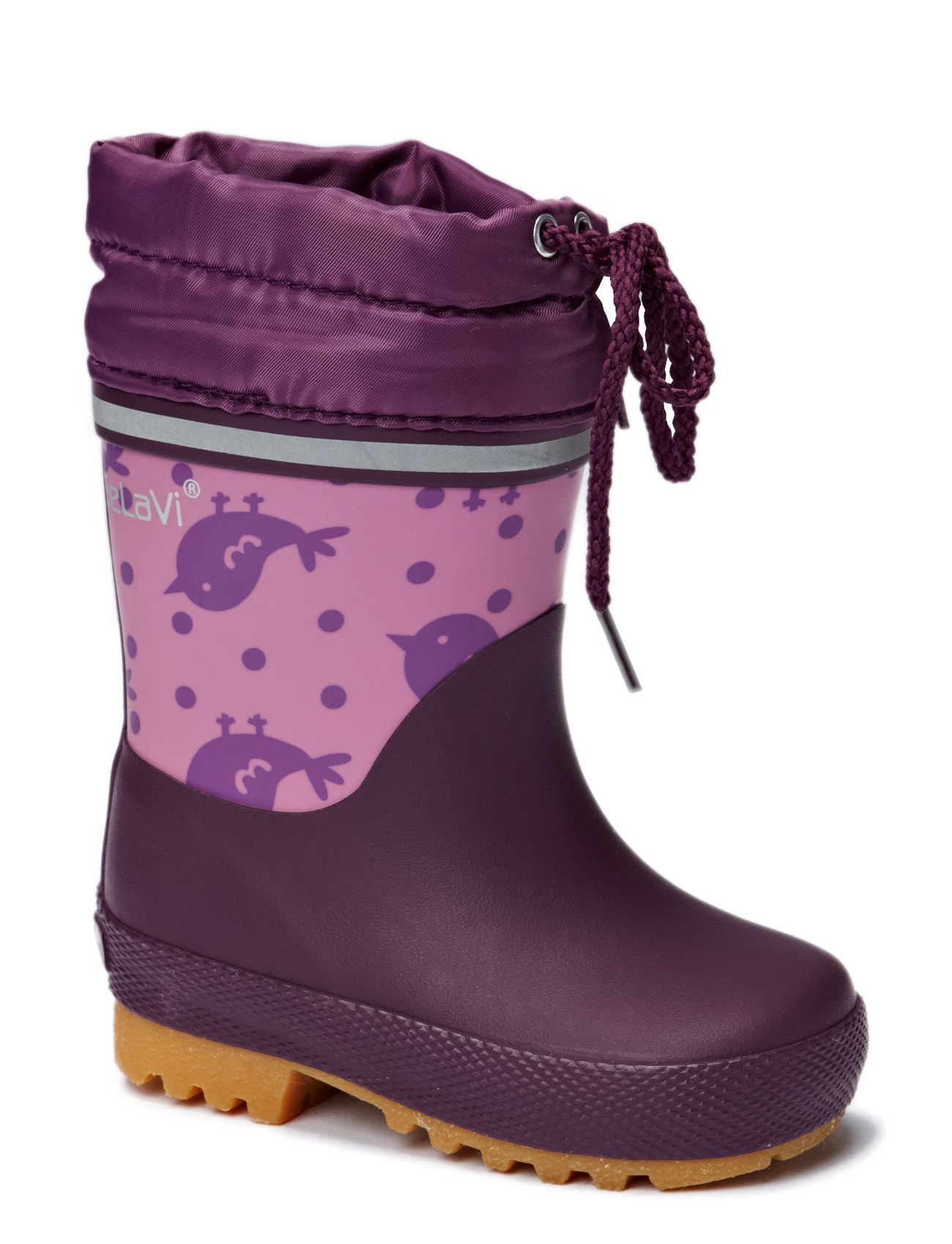 CeLaVi Thermal wellies -printed w.lining