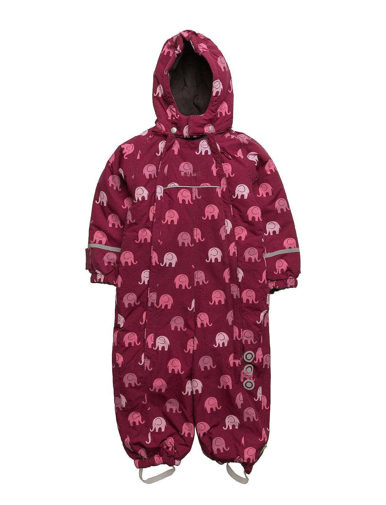 Snowsuit -Elephant With 2 Zippers CeLaVi Overalls til Børn i