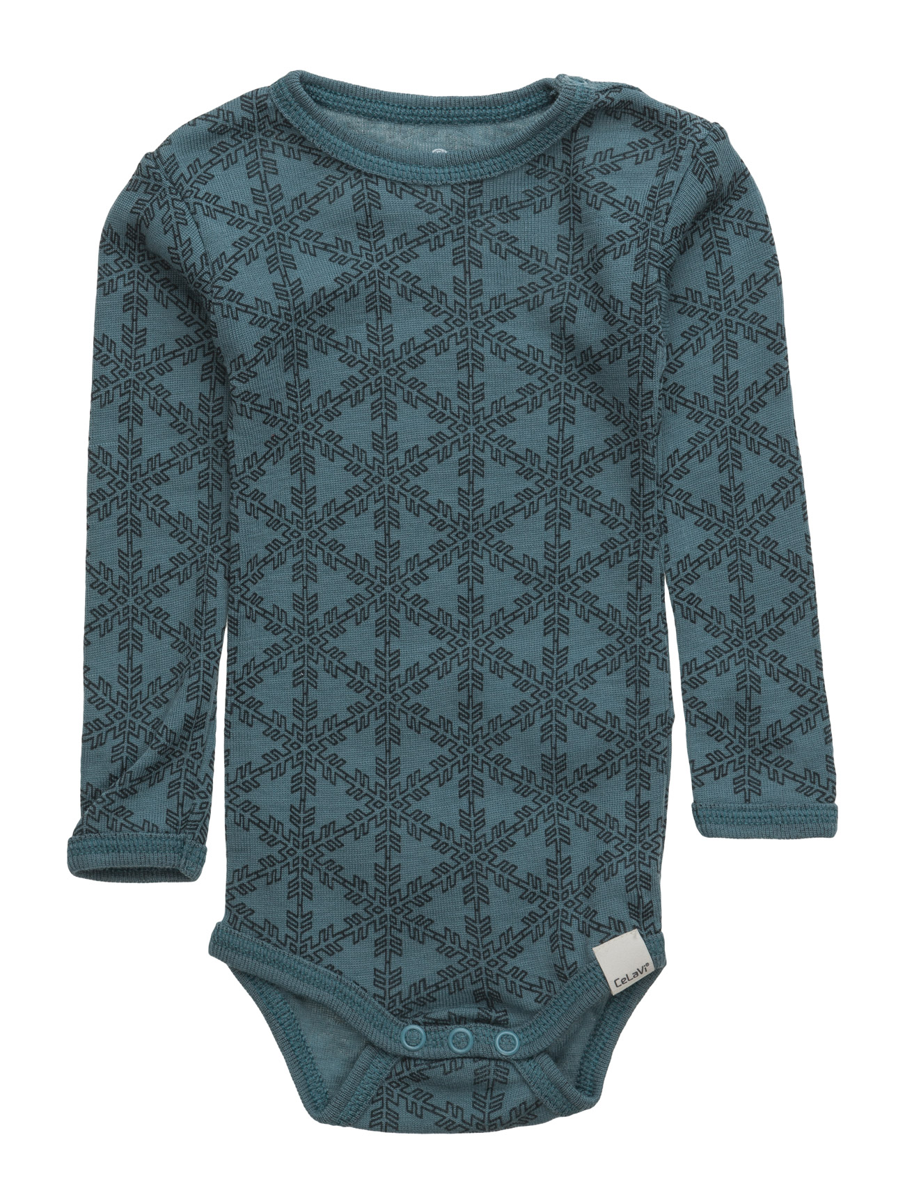 Body Ls Ao-Printed Wool CeLaVi Barn Kroppar