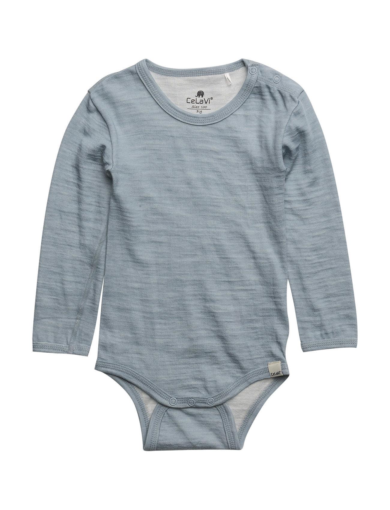 Body Ls -Wool/Bamboo CeLaVi  til Børn i