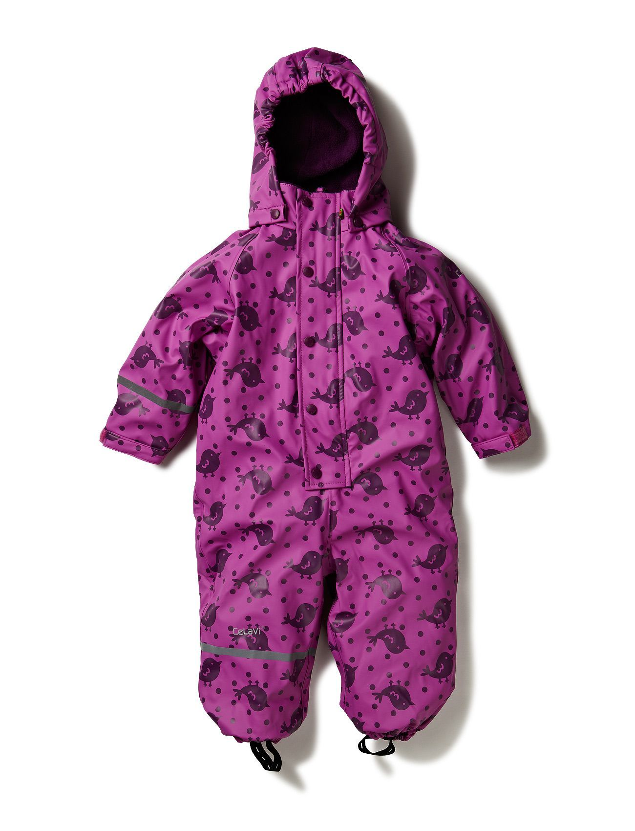 CeLaVi 1 pc rainwear suit w.fleece lining