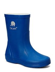 Basic wellies, solid - Oceanblue
