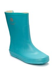 Basic wellies -solid - TURQUISE