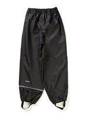Rainwear pants, solid - Black