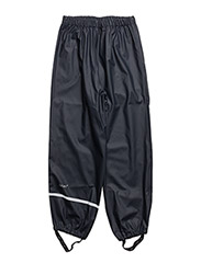Rainwear pants, solid - DARK NAVY