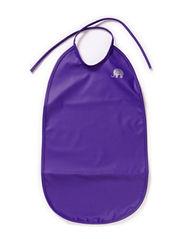 Basic long PU-bib - Purple