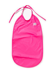 Basic long PU-bib - Real pink
