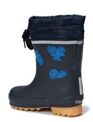 Thermal wellies -printed w.lining