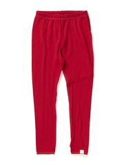 Long johns coloured wool - Persian Red