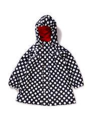 Rain jacket -PU AO-dots - Navy