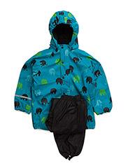 Rainwear -AOP w. fleece - HAWAIIAN OCEAN