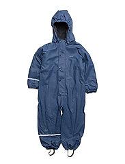 Rainwear suit - with fleece and fleece-lining - TRUE BLUE