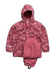 Rainwear -AOP with fleece - RAPTURE ROSE