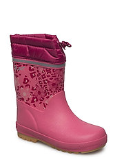 Thermal wellies AOP with linning - RAPTURE ROSE