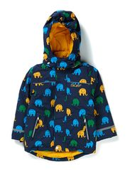 Ski jacket with AO-elephants - Dark Blue