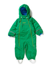 Skisuit with 2 zippers - Grass Green