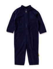 Fleece suit -solid - Navy