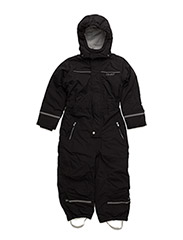 Snowsuit -solid -junior - GREY BLACK