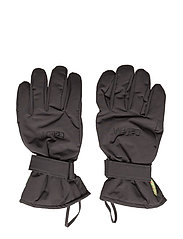 Padded glove -solid - GREY BLACK