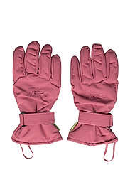 Padded glove -solid - ROSE WINE