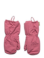 Padded mittens -solid - ROSE WINE