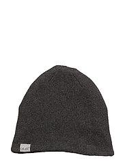 Hat - Knit - DARK GREY MELANGE