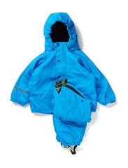 Rainsuit with fleece - Ligth blue