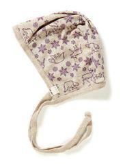 Helmet AO-printed wool - Purple