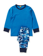 Pyjamas with tiger - Vallarta Blue
