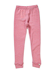 Long john, solid wool - ROSE MELANGE