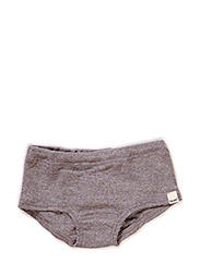 Panties, solid wool - GREY MELANGE
