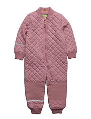 PU thermal suit -solid - ROSE