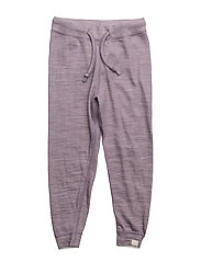 Pants -wool/bamboo - PURPLE ASH
