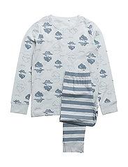 Pyjamas w. print - BALLAD BLUE