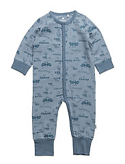 Nightsuit LS -AOP - FADED DENIM