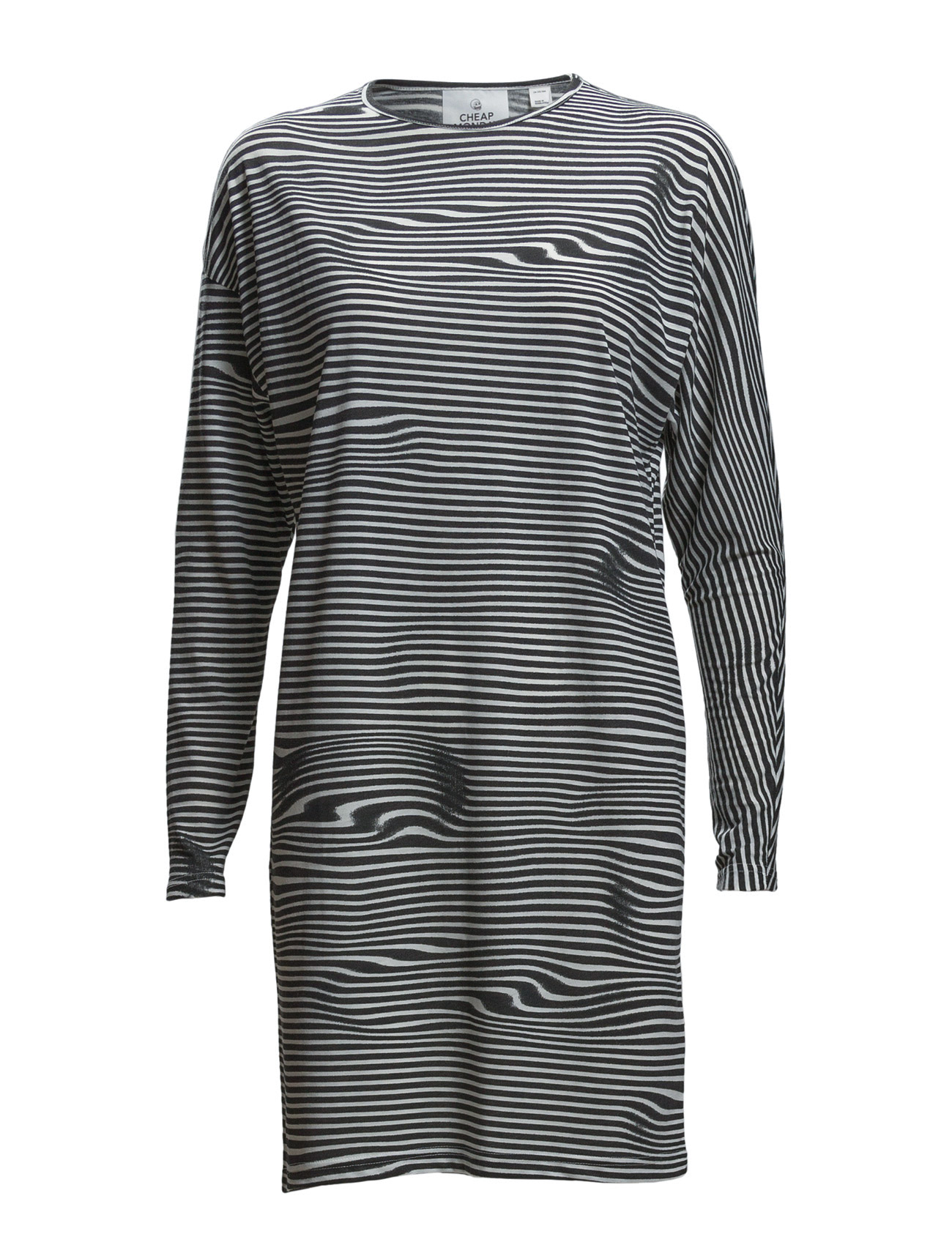 Assy Stripe Dress Liquid Stripe Cheap Monday Korte kjoler til Damer i hvid