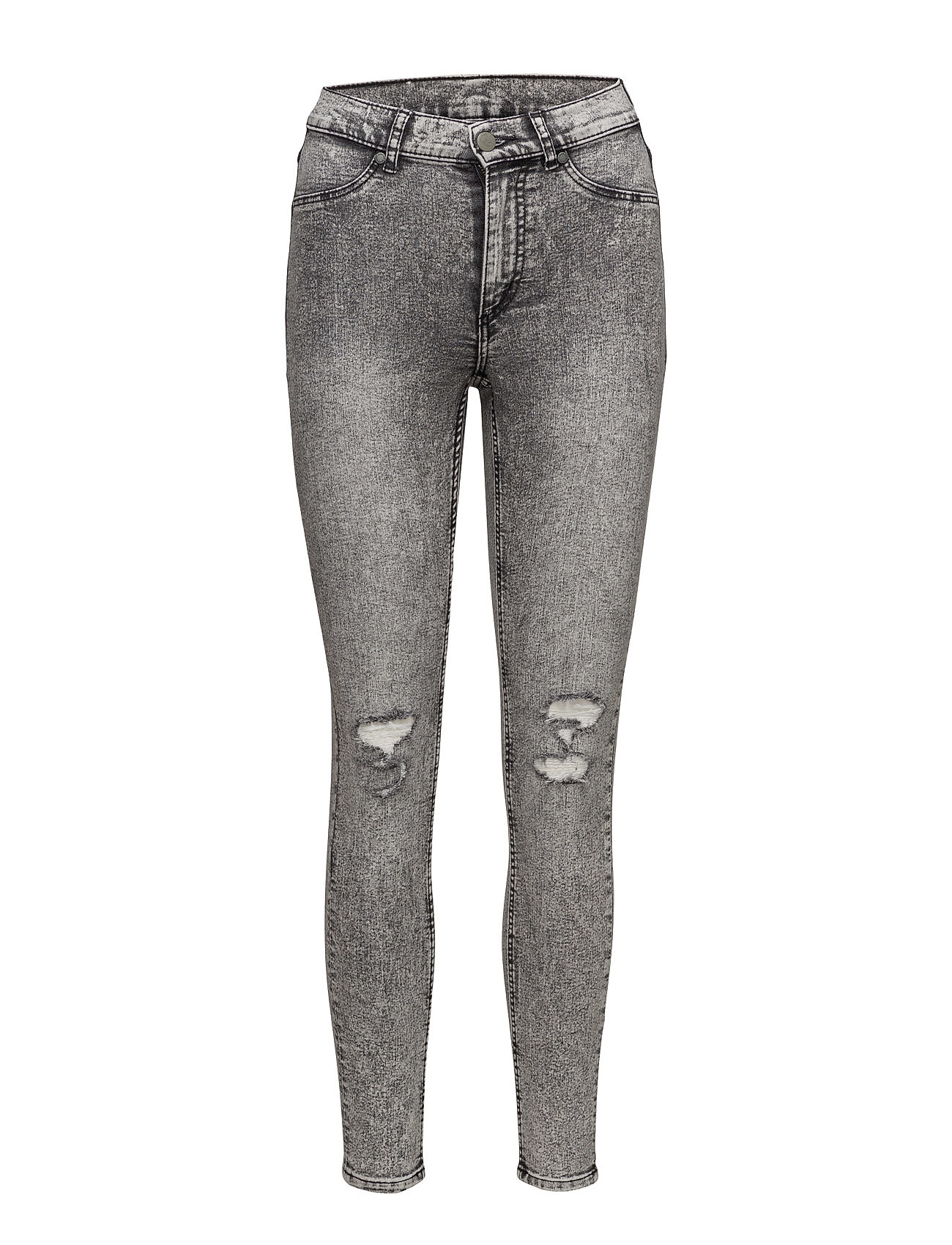 High Spray Master Grey Cheap Monday Skinny til Damer i Grå
