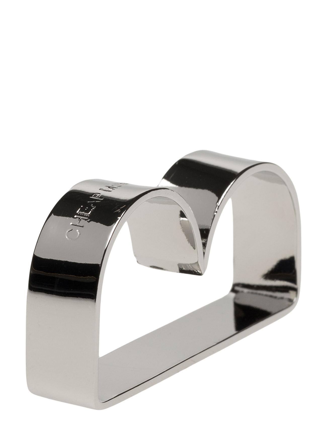 Playin Double Ring Cheap Monday Smykker til Damer i Sølv
