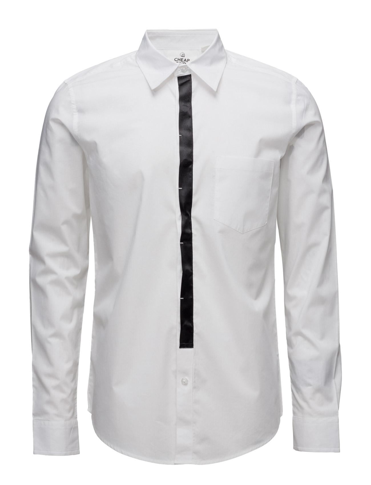 Status Shirt Cheap Monday Trøjer til Mænd i hvid
